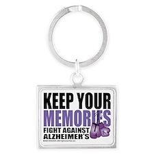 Fight-Alzheimers-2009 Landscape Keychain