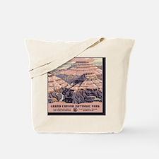 square_grand-canyon-wpa-vintage_01 Tote Bag