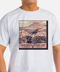 square_grand-canyon-wpa-vintage_01 T-Shirt