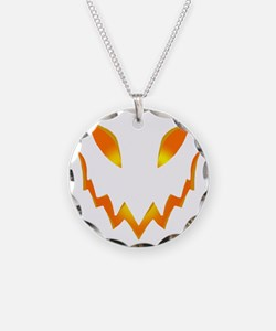 Evil Pumpkin smile Necklace