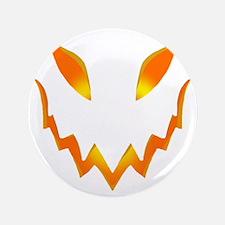 """Evil Pumpkin smile 3.5"""" Button"""