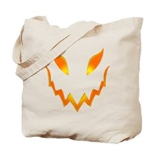 Evil Pumpkin smile Tote Bag
