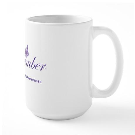 Remember-Alzheimers-2009-blk Large Mug