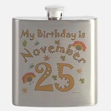 Thanksgiving Birthday Nov 25 Flask