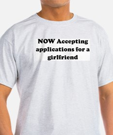 NOW Accepting applications fo Ash Grey T-Shirt