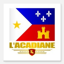 "LAcadiane Square Car Magnet 3"" x 3"""