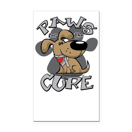 Paws-for-the-Cure-Parkinsons- Rectangle Car Magnet
