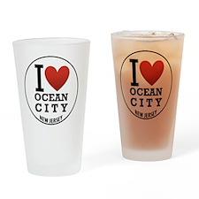 oceancity7 Drinking Glass