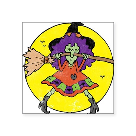 """Witchy Square Sticker 3"""" x 3"""""""