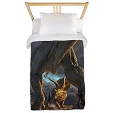 Face Off Twin Duvet