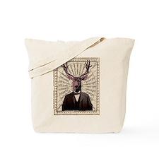 Gentlman Deer Distinguished Steampunk Altered Art