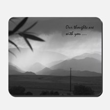 sympathy thoughts Mousepad