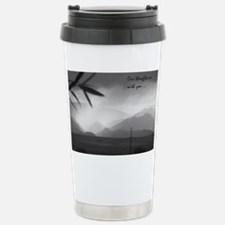 sympathy thoughts Stainless Steel Travel Mug