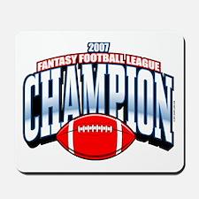 2007 Fantasy Football Champio Mousepad