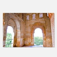 Alhambra windows Postcards (Package of 8)