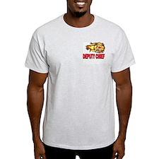 Deputy Fire Chief Ash Grey T-Shirt