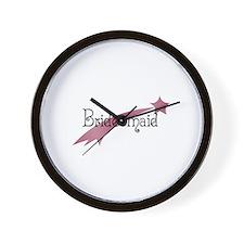 Bridesmaid - Shooting Star Wall Clock