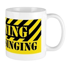 WarningSticker Mug