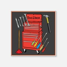 Colorful Toolbox Sticker