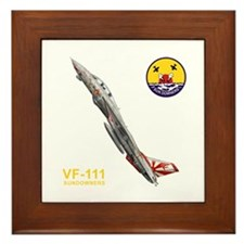 VF-111 Sundowners Framed Tile