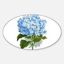 Blue hydrangea flowers Decal