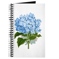 Blue hydrangea flowers Journal