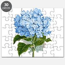 Blue hydrangea flowers Puzzle