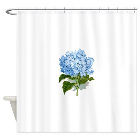 Blue Hydrangea Flowers Shower Curtain By Admin Cp49789583