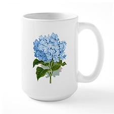 Blue hydrangea flowers Mugs