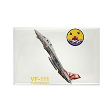 VF-111 Sundowners Rectangle Magnet