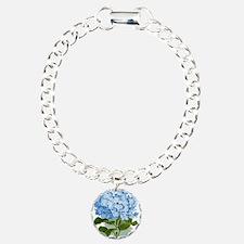 Blue hydrangea flowers Bracelet