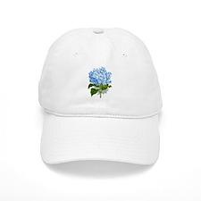 Blue hydrangea flowers Baseball Cap