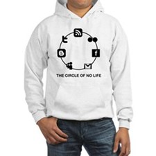 the circle of no life copy Hoodie