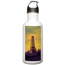 old derick sunset jour Water Bottle