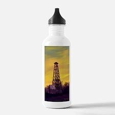 old derick sunset jour Water Bottle