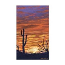 sonoran sunset journal Decal