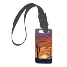 sonoran sunset journal Luggage Tag