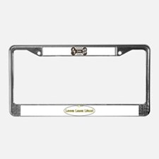 Unique Large License Plate Frame