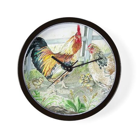 how to make a hen clock
