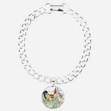 Rooster, Hen  Chicks Bracelet