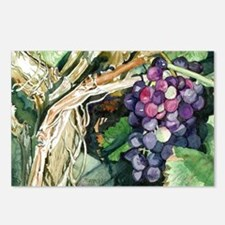 Grapes 2 Postcards (Package of 8)