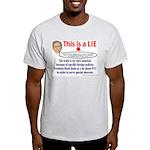 Bush LIE Ash Grey T-Shirt