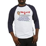 BUSH LIE Baseball Jersey
