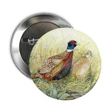 "Pheasant 2.25"" Button"