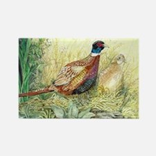 Pheasant Rectangle Magnet