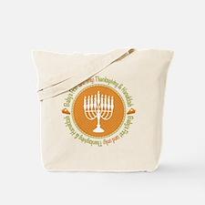 1st Thanksgiving Hanukkah Tote Bag