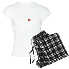 2-rib cage heart black Pajamas