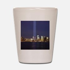911 Tribute of Lights Shot Glass