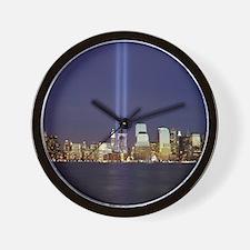 911 Tribute of Lights Wall Clock