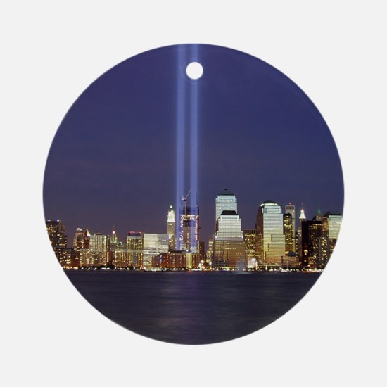 911 Tribute of Lights Round Ornament